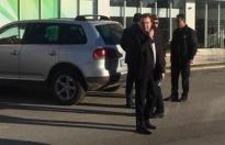 Antalya'da soygun girişimi (Banka güvenliği rehin alındı)