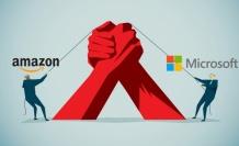 Microsoft ve Amazon yeniden karşı karşıya: 10 milyar dolarlık yeni ihale