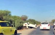 Lefkoşa'da zincirleme trafik kazası!