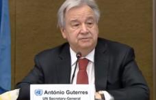 Son Dakika: Birleşmiş Milletler Genel Sekreteri Antonio Guterres  Cenevre sonrası açıklama yapıyor