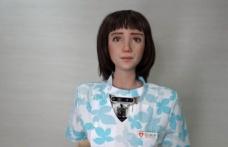 Covid-19 hastaları için insansı robot geliştirildi