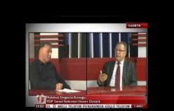 Gazete T de Mahmut Doğan'nın Konuğu Enver Öztürk