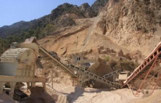 8 adet taş ocağı Bakanlar Kurulu kararı ile kapatıldı
