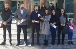 Basın-Sen İçişleri Bakanı Baybars'ı protesto...