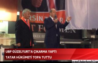 UBP GÜZELYURT'A ÇIKARMA YAPTI