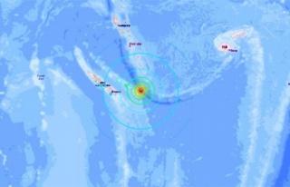 Yeni Kaledonya'da 7.5 büyüklüğünde deprem!...