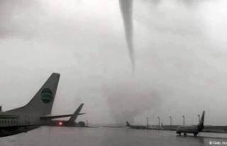 Alman meteorolog: Antalya'da aşırı olan hortum...