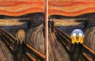 Munch'un 'Çığlık' tablosu çağımızın...