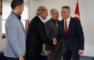 Uluçay'ın misafirleri Eskişehir'den...