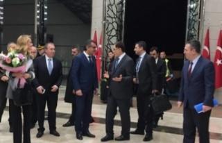 Başbakan Ankara'da