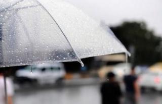 Bu haftada şemsiyeler el altında olacak