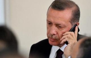 Cumhurbaşkanı Erdoğan'dan Denktaş Ailesine...