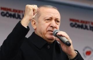 Erdoğan: Ülkemizi patlıcan, domates, biber üzerinden...