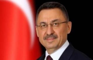 Fuat Oktay, Aydın Denktaş'ın Cenaze Törenine...