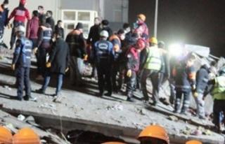 İstanbul Kartal'da 8 katlı bina çöktü: 3...