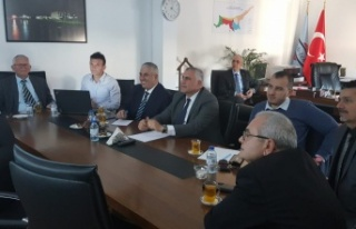 UBP heyeti KIB-TEK hakkında bilgilendirildi