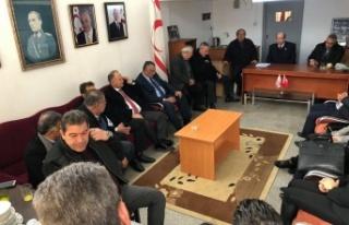 UBP Lideri Ersin Tatar, Güzelyurt'ta Temaslarda...