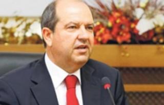 Ulusal Birlik Partisi (UBP) Genel Başkanı Ersin...