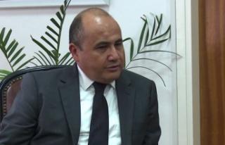 Büyükelçi Başçeri Kıbrıs Sorunu İle İlgili...