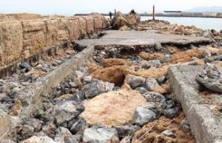 Girne Antik Limanı'nın Hali İçler Acısı