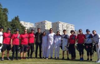 Milli Okçularımız Antalya'da.. İlk yarışma...