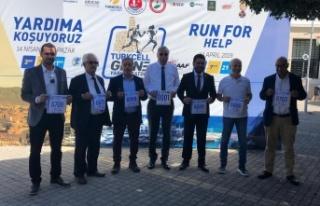 Savaşan: Gelin Maratona Birlikte Destek Olalım