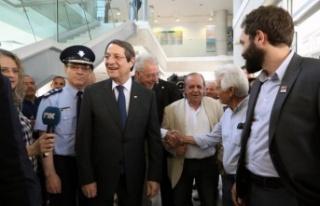 Anastasiades Kıbrıslı Türklerin seçime katılım...