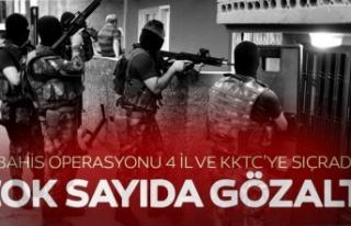 Adana'da, KKTC Bağlantılı Bahis Çetesine Operasyon