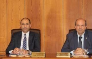 Bakanlar Kurulu, Başbakan Ersin Tatar başkanlığında...