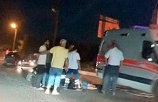 Lapta'da kaza! İki kişi yaralandı