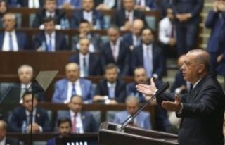 AKP'li milletvekillerinden Erdoğan'a: Yanınıza...