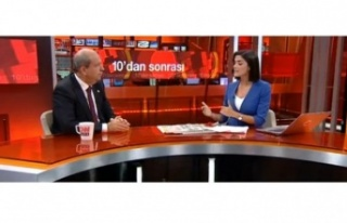 Başbakan Tatar CNN Türk'te konuştu: Bir anlaşma...