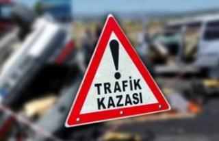 BOĞAZKÖY-AĞIRDAĞ YOLUNDA TRAFİK KAZASI… 3 KİŞİ...