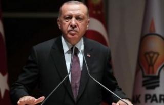 Erdoğan: Kıbrıs'ta sıradan ülke değiliz,...