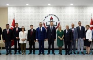 KKTC VE TC MİLLİ EĞİTİM BAKANLIKLARI ARASINDA...