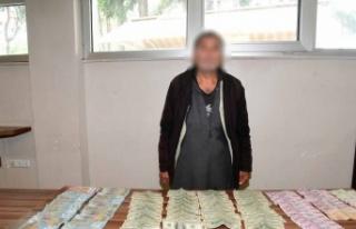 Suriyeli dilencinin üzerinden 3 bin 800 lira, 5 bin...