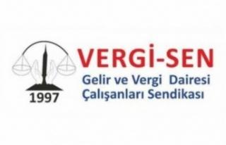 VERGİ SEN, HAYAT PAHALILIĞI'NDAN EKSİLTME YAPILMASINI...