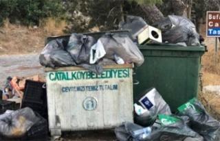Kıbrıs'ın tarihi yerlerine çöp bırakana...