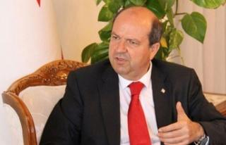 Başbakan Tatar Ankara'dan mesaj verdi: Akıncı...