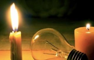 Dikkat elektrik kesintisi var!