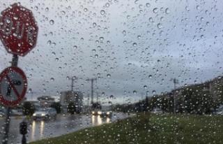 Meteoroloji Dairesi'nden sağanak yağış uyarısı