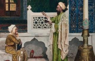 Osman Hamdi Bey'in tablosu 'Yeşil Cami'de...