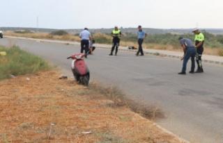 Trafik kazasından yaralı kurtulan İsmail Özdemir...
