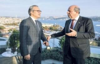 Başbakan Ersin Tatar, Milliyet'ten Ozan Güzelce'ye...