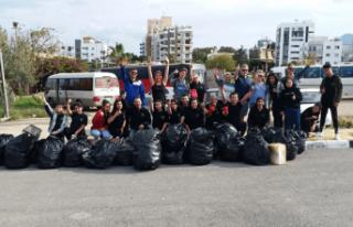 Lefkoşa İyilik Gönüllüleri'nden Girne'deki...