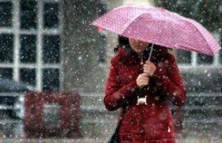 Soğuk ve yağışlı hava etkisini sürdürecek