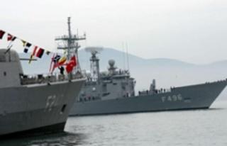 Türk Donanması Libya'da... 4 fırkateyn bölgeye...