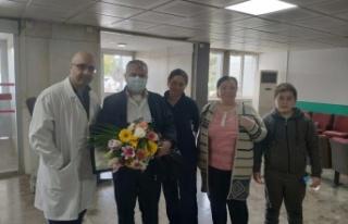 KKTC'de kalp nakli yapılan ikinci hasta taburcu...