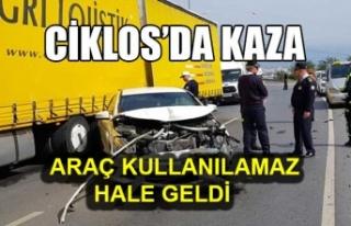 Girne-Lefkoşa anayolunda trafik yoğunluğu yaşandı