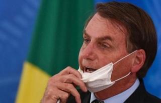 Brezilya Devlet Başkanı Bolsonaro destekçilerine...